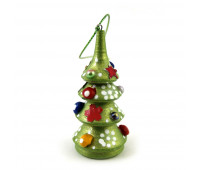 "Christmas tree ornament ""Wooden Christmas tree"""