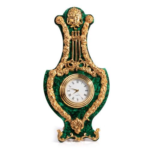 Alhambra malachite clock