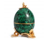 Casket Easter egg malachite