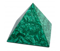 Paperweight Pyramid malachite