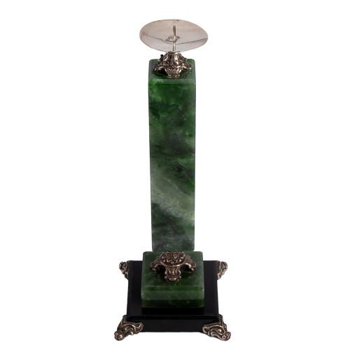 Candlestick malachite