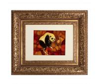 Mosaic panel Panda