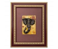 Mosaic panel Elephant