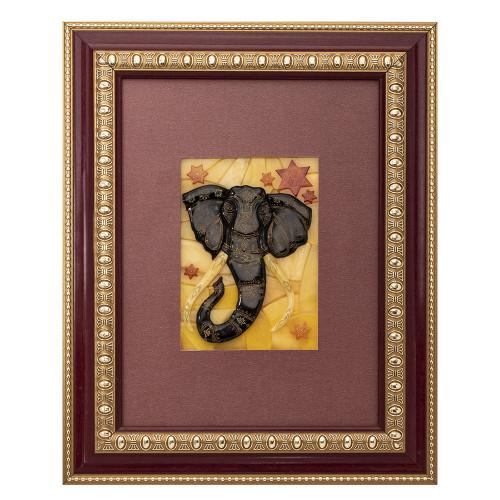 Панно мозаика Слон