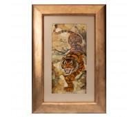 Mosaic panel Tiger