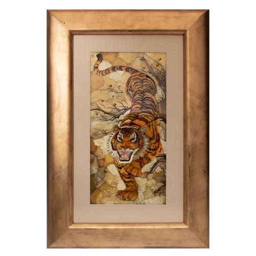 Панно мозаика Тигр