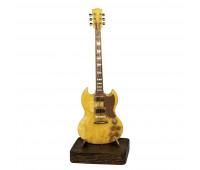 Гитара янтарь