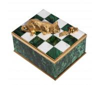 Malachite box Cat