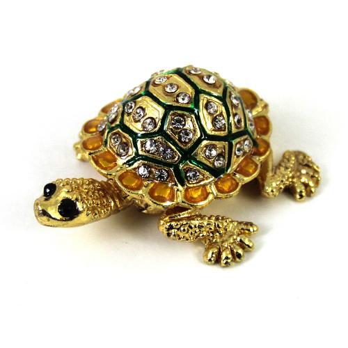 Шкатулка для украшений в виде черепахи