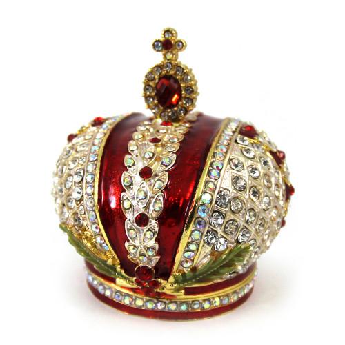 Корона шкатулка в стиле Фаберже
