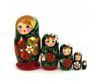"Matryoshka ""Strawberry"", 5 pieces"