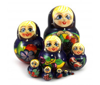 "Matryoshka ""Fruits"", 10 pieces"