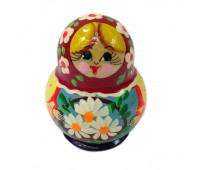"Mini-matryoshka ""Beautiful bouquet"", 10 pieces (Russian Nesting doll)"