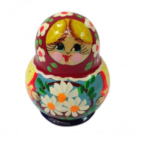 "Mini-matryoshka ""Beautiful bouquet"", 10 pieces (Russian Nesting doll)"
