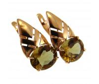 Earrings gold 585 sultanica, 3,03 gr