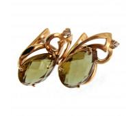 Earrings gold 585 sultanica, 3,7 gr