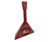 Балалайка декоративная 25см с музыкальной шкатулкой