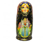 "Matryoshka ""Fairy tale"", 5 pieces (Russian Nesting doll)"